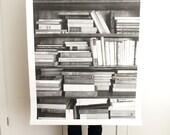 Bookshelf Print
