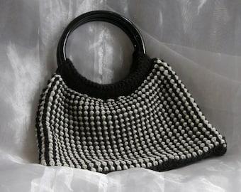 Wee Black and White Handbag