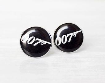 Mens Cufflinks - James Bond Cufflinks - James Bond 007 Jewelry