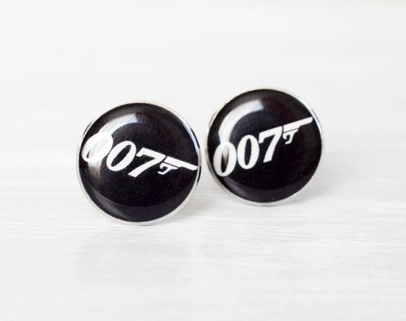 Mens Cufflinks - James Bond Cufflinks - James Bond 007 Jewelry