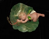 Polymer Clay Fairy and Leaf Series