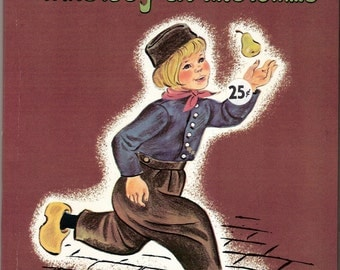 The Boy at the Dike Vintage Whitman Top Top Tales Book Illustrated by Marguerite Scott