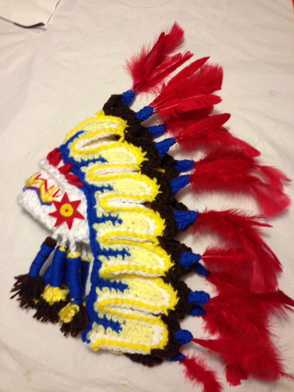 Thanksgiving Indian Hat Cherokee Perfect Newborn Photo Prop