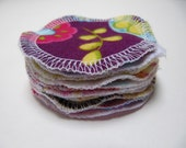 Reusable Facial Rounds, 10 Cosmetic Rounds, Makeup Remover Pads, Eco-Friendly Face Scrubbies