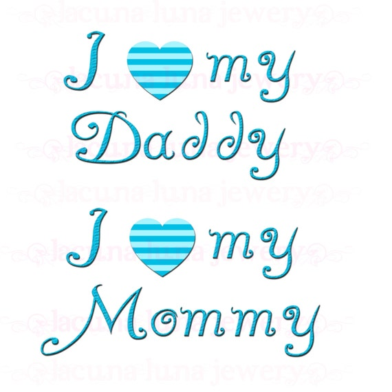 Items similar to instant download digital scrapbook - I love you daddy download ...