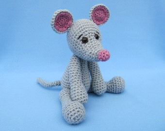 My Friend Mouse Mili - Amigurumi Crochet Pattern / PDF e-Book / Stuffed Animal Tutorial