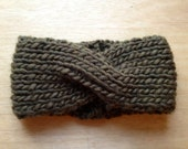 "The ""Eskimo Turban"" Knit Headband in 5 colors"
