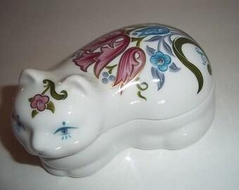 Elizabeth Arden Porcelain Cat Dish