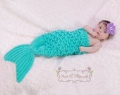 Crochet Mermaid Tail & Headband Prop INSTANT DOWNLOAD PDF from Thomasina Cummings Designs