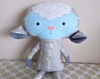 Lamb Stuffed Animal - Children's Toy