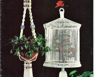 Macrame Moods II Macrame Pattern Book MM631