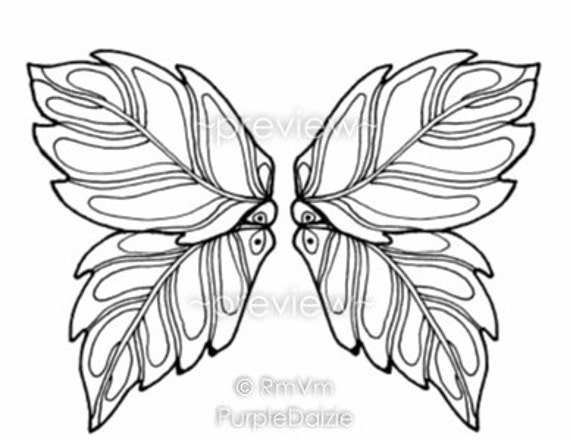 Irresistible image in free printable fairy wings