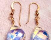 Swarvoski Crystal Teardrop Earrings