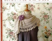 Stole Scarf Shawl and Poncho - Crochet - PDF Pattern - Free Shipping