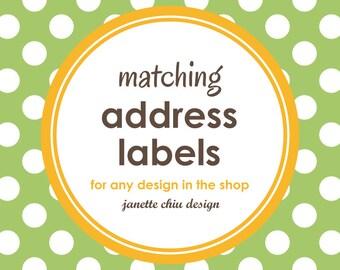 Matching Address Labels
