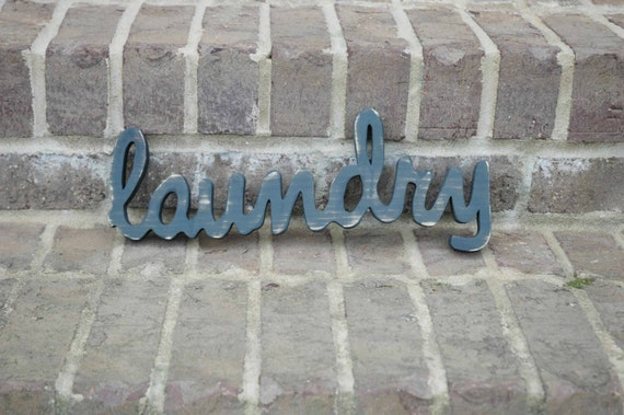 Laundry Sign, Laundry Room Decor, Wood Laundry Sign Cut Out