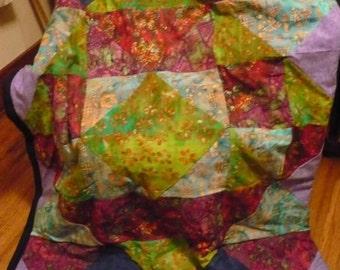 Crazy Batik Quilt