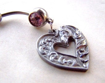 Horse Belly Ring