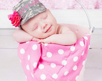 Military Baby hat, acu hat, multi cam, airforce, marines, us navy hat, military hat All sizes