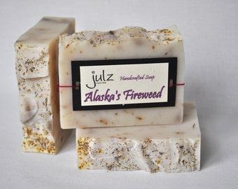 Alaska's Fireweed- Scented Bar Soap