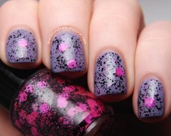 Pretty in Punk Custom Glitter Nail Polish