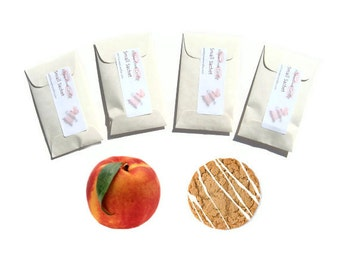 Sachets Packets Scented Ginger Peach Favors Rustic Wedding Bridesmaid Gifts Decoration Paper Goods