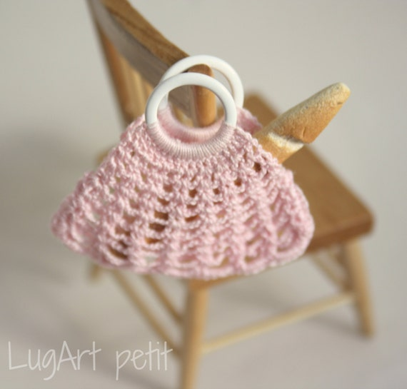 Crochet Bag with ring handles