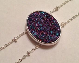 Sparkle Purple Stone Bracelet