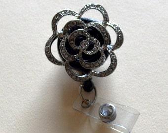 Diamond Rose Pendant Badge Cover