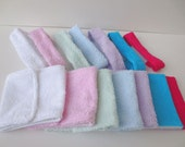 American Girl Favor Set - Set of EIGHT Doll Towel Wraps and Matching Headbands