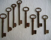 Antique skeleton keys, 19th century - CRumpffCollectibles