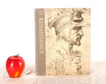 IPAD Cover- Tablet Case made from a vintage Book- Renaissance