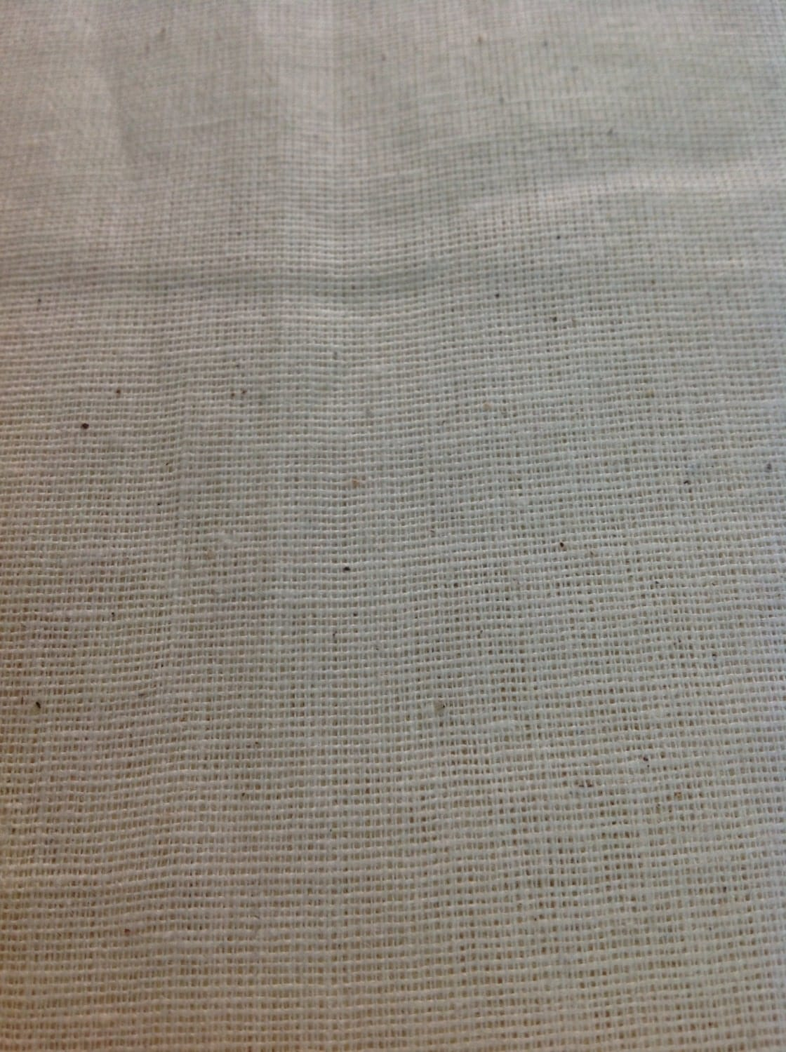 Unbleached Muslin Fabric Organic Cotton Fabric by DesiFabrics