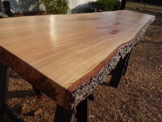 Hardwood Wood Slab Natural Table Top, Thick Coffee Table, DIY Table ...