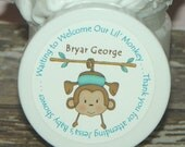 Whipped Body Butter - Baby Shower Favors (Lil' Monkey - Boy)