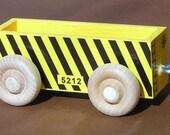 Wooden Toy Train Gondola Car
