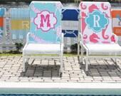 Monogrammed Beach Towel - Ric Rac Design