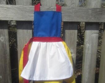 Kids apron, Princess Apron, Children Apron
