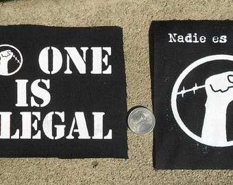 Nadie Es Ilegal/No One Is Illegal Patch
