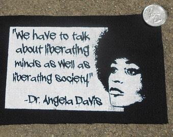 Dr. Angela Davis Patch