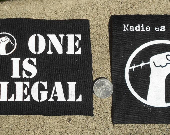 Nadie Es Ilegal/No One Is Illegal Patch