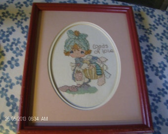 Precious Moments cross stitch Cheri's Gifts and Treasures