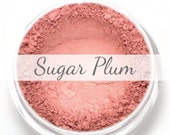 "Mineral Blush Sample - ""Sugar Plum"" (natural light plum pink) - Vegan"