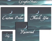 Header and Avatar set - Misty Night and Moon Set cover banner
