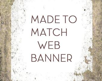Custom Web Banner, Social Media Banner Set Add on