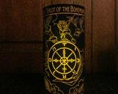 Tarot II Candleholder: Gypsy, tarot, altar, ritual, apothecary, witchery, decor, decorations, candles, fortune teller, tarot cards, bohemian