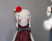 PIPA, RAG DOLL, hand-stitched with love.