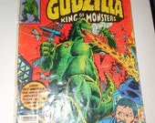 first issue -  Godzilla - king of the monsters -  marvel comic book 1