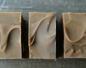 Cinnamon Peppermint Chocolate - All Natural Cocoa Butter Cold Process Soap Bar