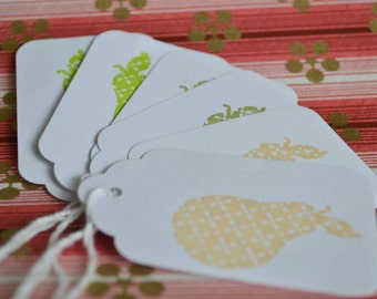 Perfect Pear Gift Tags